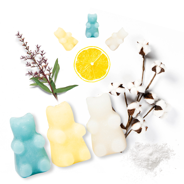 Happy Wax Fresh Mix Wax Melts - All Happy Wax scented wax melts are made with 100% all natural soy wax and are infused with essential oils. Perfect for using with your electric wax melt, cube, or tart warmer to deliver flame-free home fragrance!