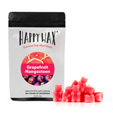 Happy Wax Grapefruit Mangosteen Wax Melts - All Happy Wax scented wax melts are made with 100% all natural soy wax and are infused with essential oils. Use with any scented wax melt, cube, or tart warmer for hours of flame-free home fragrance! Adorable bear-shaped scented wax melts make mixing & melting a breeze.