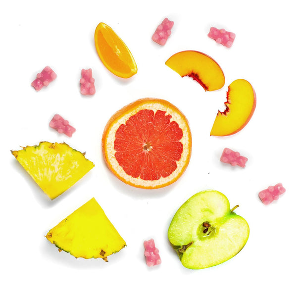 Grapefruit Mangosteen 2 Oz. Sample Pouch - Fun shapes make mixing and melting a breeze!