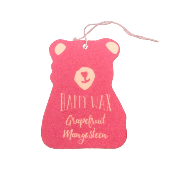 Happy Wax Grapefruit Mangosteen Scented Car Freshener - All - $5.95