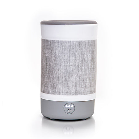 Happy Wax Gray Linen Signature Wax Melt Warmer - $39.95
