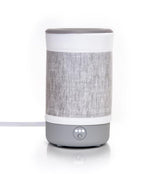 Happy Wax Gray Linen Signature Warmer