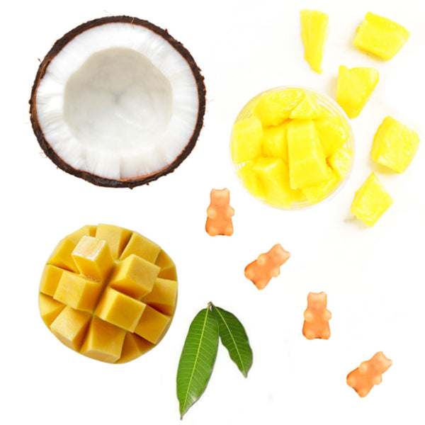 Half Pounder Mango Daiquiri Wax Melts - Fun shapes make mixing and melting a breeze!
