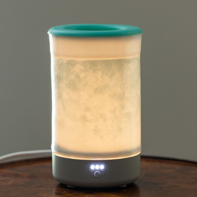 Happy Wax - Watercolor Signature Wax Melt Warmer - Use our electric wax warmers with any scented wax melt, cube or tart!