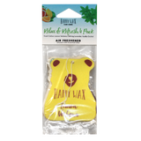 Happy Wax - Relax & Refresh 4 Pack - With our Happy Wax Relax & Refresh 4 Pack you'll get to enjoy one of each of our Happy Wax Lemon Verbena, Calming Lavender, Fresh Cotton, and Vanilla Orchid scented car fresheners.