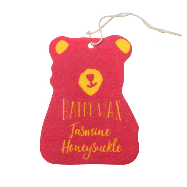 Jasmine Honeysuckle Scented Car Freshener - Fun shapes make mixing and melting a breeze!