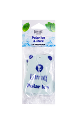 Happy Wax Polar Ice Scented Car Cub Air Freshener - All Happy Scented car fresheners are infused with natural essential oils! You'll love opening your car door after a long day at work! Hang our scented car fresheners from any car rear view mirror for hours of fragrance.
