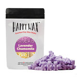 Happy Wax Lavender Chamomile Wax Melts - All Happy Wax scented wax melts are made with 100% all natural soy wax and are infused with essential oils. Use with any scented wax melt, cube, or tart warmer for hours of flame-free home fragrance! Adorable bear-shaped scented wax melts make mixing & melting a breeze.