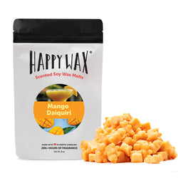 Happy Wax - Mango Daiquiri Wax Melts - All Happy Wax melts are made with 100% all natural soy wax and are infused with essential oils.