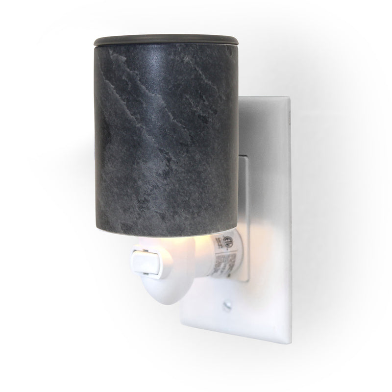 Happy Wax Stone Outlet Plug-In Wax Warmer - Use our wax wax warmer with any scented wax melts cubes or tarts for hours of flame-free home fragrance.