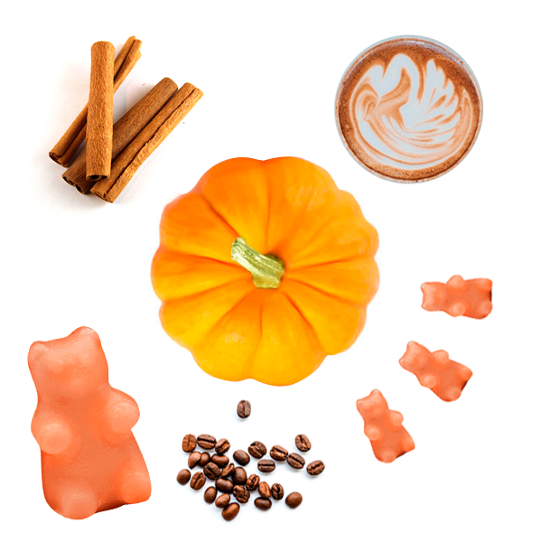 Happy Wax Pumpkin Spice Latte Wax Melts - All Happy Wax Scented wax melts are made with all-natural soy wax and are infused with essential oils. Perfect for using in your electric wax melt, cube, or tart warmer for hours of flame-free home fragrance.
