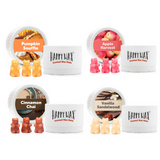 Savory Tin Gift Set - Happy Wax Soy Wax Melts - All Happy Wax melts are made with 100% all natural soy wax. Use our scented wax melts in any wax melt, cube, or tart warmer. Enjoy hours of flame-free home fragrance.