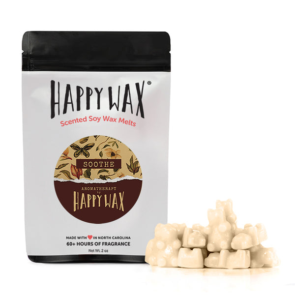 Happy Wax Soothe Wax Melts - All Happy Wax scented wax melts are made with 100% all natural soy wax.