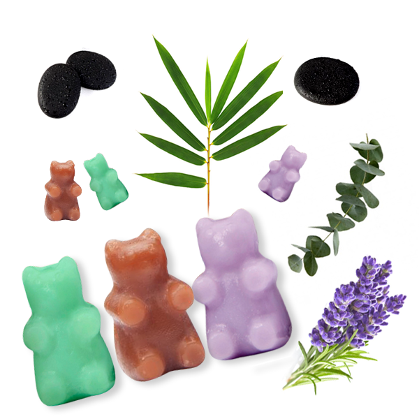 Happy Wax - Spa Day Mix Wax Melts - An even blend of our Sage & Cedarwood, Lavender Chamomile, and Eucalyptus Spearmint Wax Melts - All Happy Wax scented wax melts are made with soy wax and are infused with essential oils. Perfect for using with any electric wax melt, cube, or tart warmer.