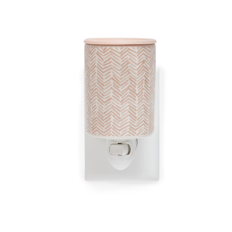 Happy Wax Herringbone Outlet Plug-In Wax Warmer - $14.95