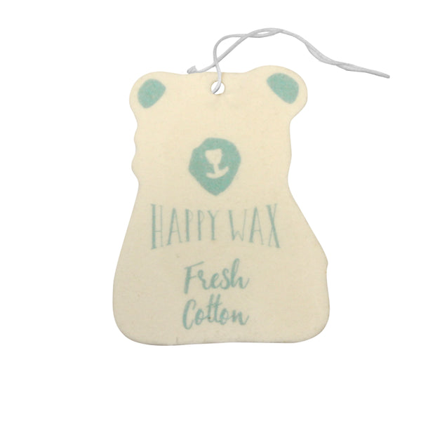 Happy Wax - Fresh Cotton Scented Car Freshener - All - $5.95