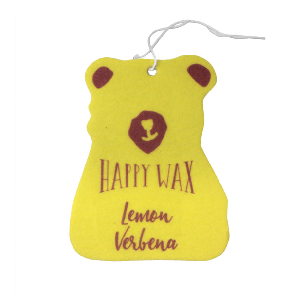 Happy Wax Lemon Verbena Scented Car Freshener - All $5.95