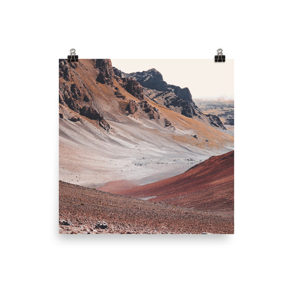 Mars on Earth by Matthew Lawless (print) - DustyINTL