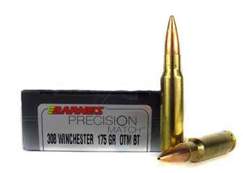 Barnes Precision Match .308 175 Grain OTM 30818