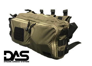 Dynamic Assault Systems Active Shooter Response Kit Configuration DAS-ASR-1