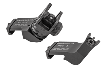 Dueck Defense Rapid Transition Sight Set With Trijicon Night Sight Inserts