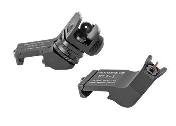 Dueck Defense Rapid Transition Sight Set With Fiber Optic Inserts