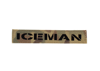 Laser Cut Name Tape - Glo Or IR Multicam IR