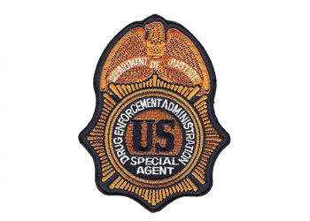 Custom Badge Patches Drug Enforcement Administration