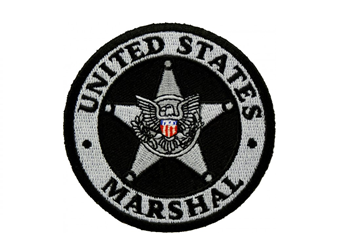 Custom Badge Patches US Marshals Service