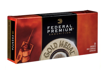 Federal Premium Gold Medal .338 Lapua 250 Grain BTHP GM338LM