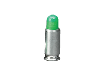 Force On Force 9mm Marker Rounds Green FF9G2