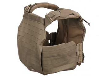 FirstSpear Strandhögg SAPI Cut Plate Carrier Coyote 500-12-00026-5005 Back