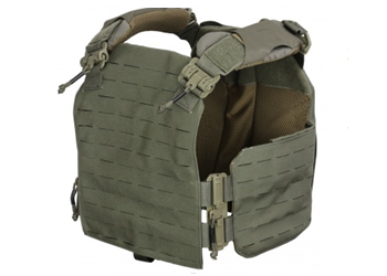 FirstSpear Strandhögg SAPI Cut Plate Carrier Ranger Green 500-12-00026-5003 Front