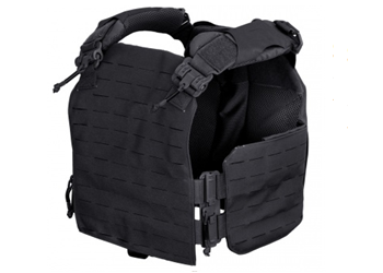 FirstSpear Strandhögg SAPI Cut Plate Carrier Black 500-12-00026-5001 Front