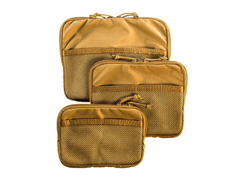 High Speed Gear Family Of Mesh Utility Pouches Coyote Brown