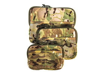 High Speed Gear Family Of Mesh Utility Pouches Multicam