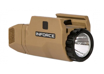 INFORCE APLc Compact White Flat Dark Earth AC-06-1