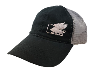 LionHeart Wings Trucker Cap Black / Silver