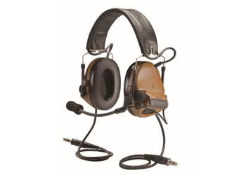 Peltor ComTac III ACH Headset Coyote Brown Dual Comm MT17H682FB-19 CY