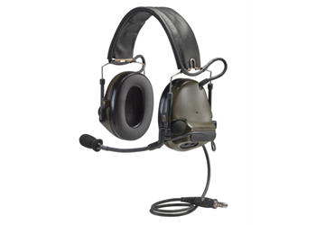 Peltor ComTac III ACH Headset Green Single Comm MT17H682FB-47 GN