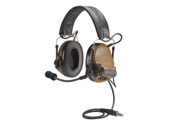 Peltor ComTac III ACH Headset Coyote Brown Single Comm MT17H682FB-47 CY