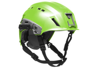 Team Wendy EXFIL Search And Rescue Tactical Helmet Hi Vis Green 81R-GN