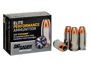 Sig Sauer Elite V-Crown 9MM 147 Grain JHP E9MMA3