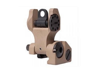 Troy Industries Folding Rear Sight SSIG-FBS-R0FT-00