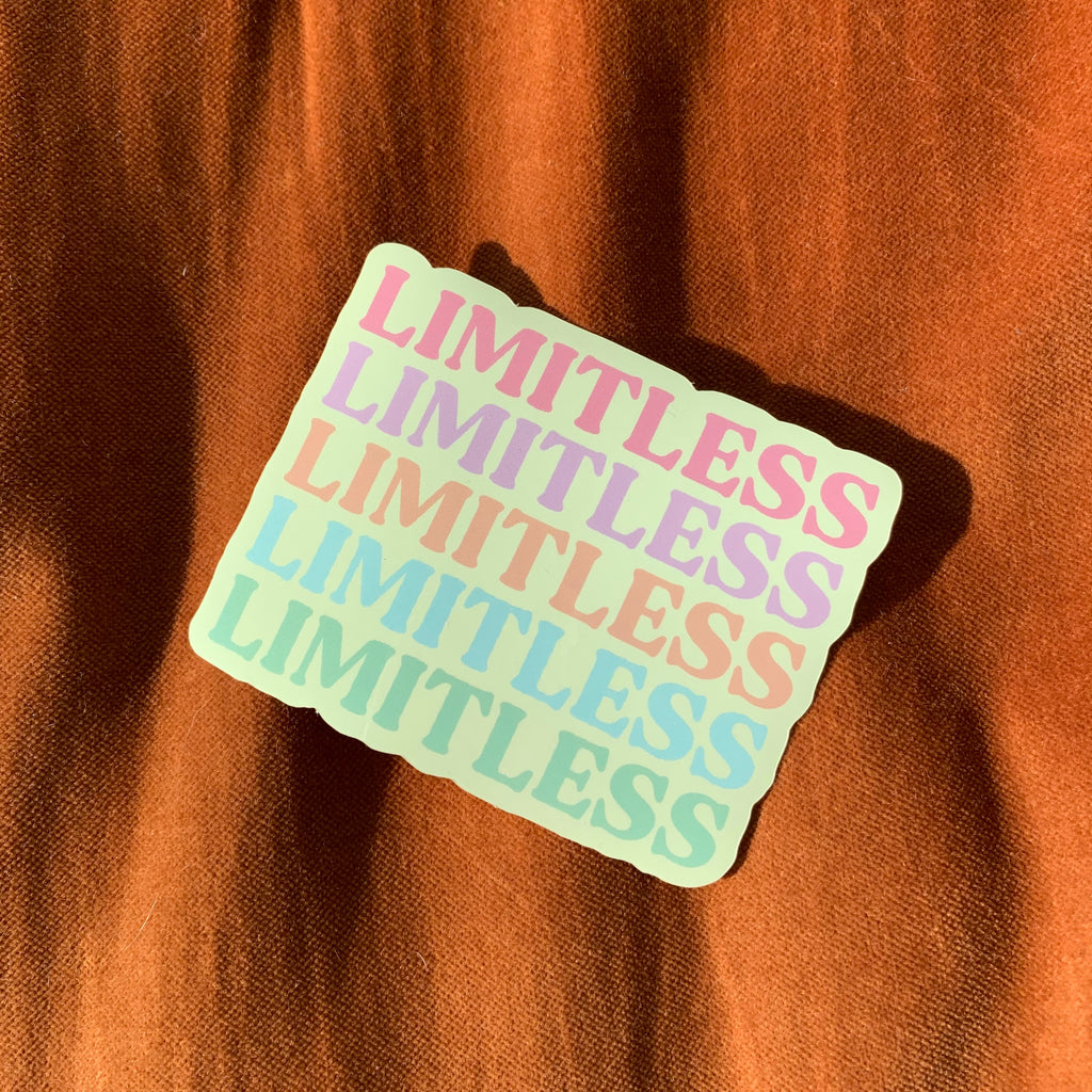 Limitless Sticker