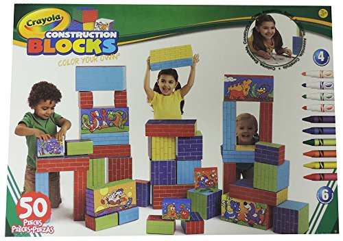 CRAYOLA COLOR YOUR OWN BLOCKS