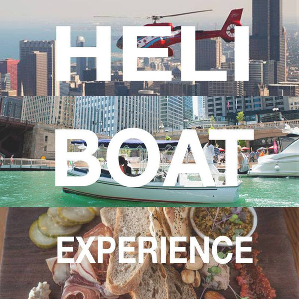 Heli-Boat Package for up to  5 People