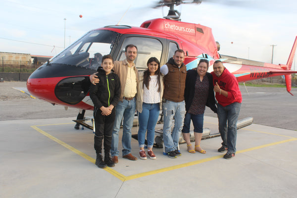 Father's Day Helicopter Experience Gift Voucher
