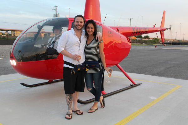 *Anytime Private Helicopter Tour for 2 People