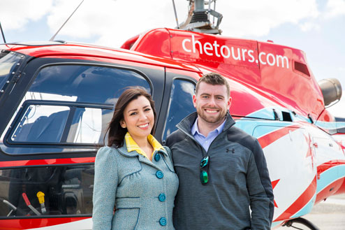 Date Night Helicopter Tour and Dinner